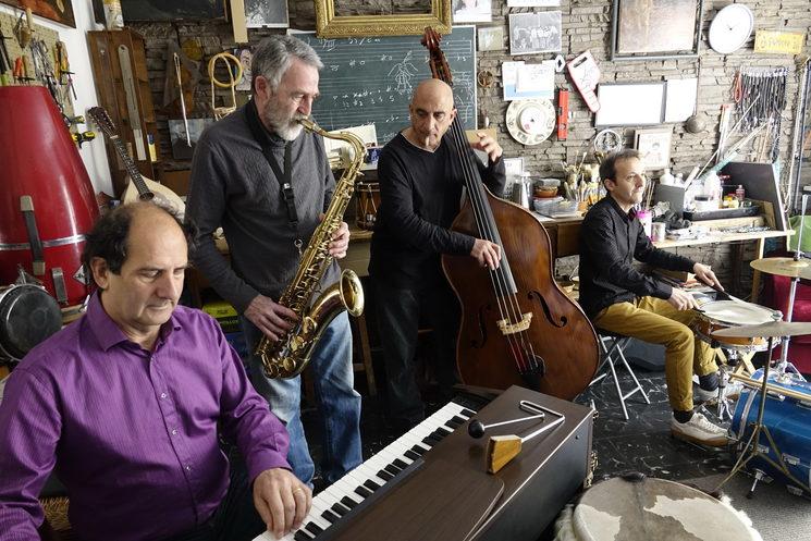 Ximo Caffarena Quartet /  Folken Jazz [17/10/20]